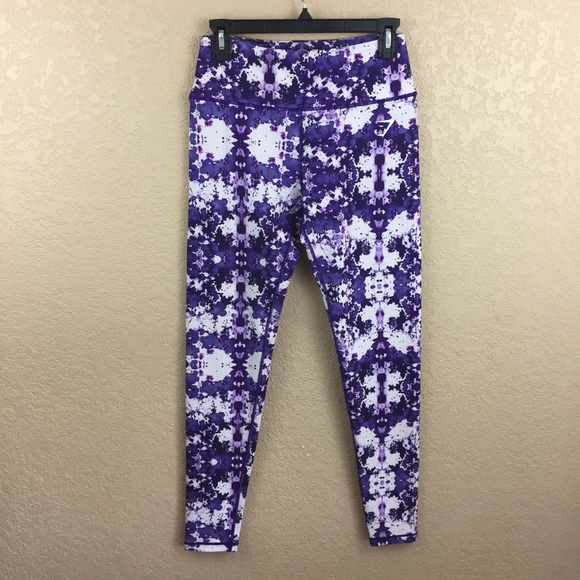 efa504a241d202 Gymshark Pants | Kaleidoscope Purple Highwaist Legginge12 | Poshmark